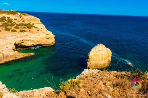 Falaises en Algarve